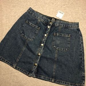 NWT Urban Outfitters Denim Skirt